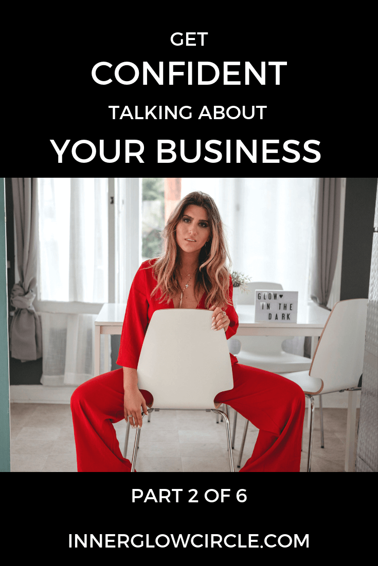 Get Confident Talking about Your Brand, Business, or Offering for Female Entrepreneurs!