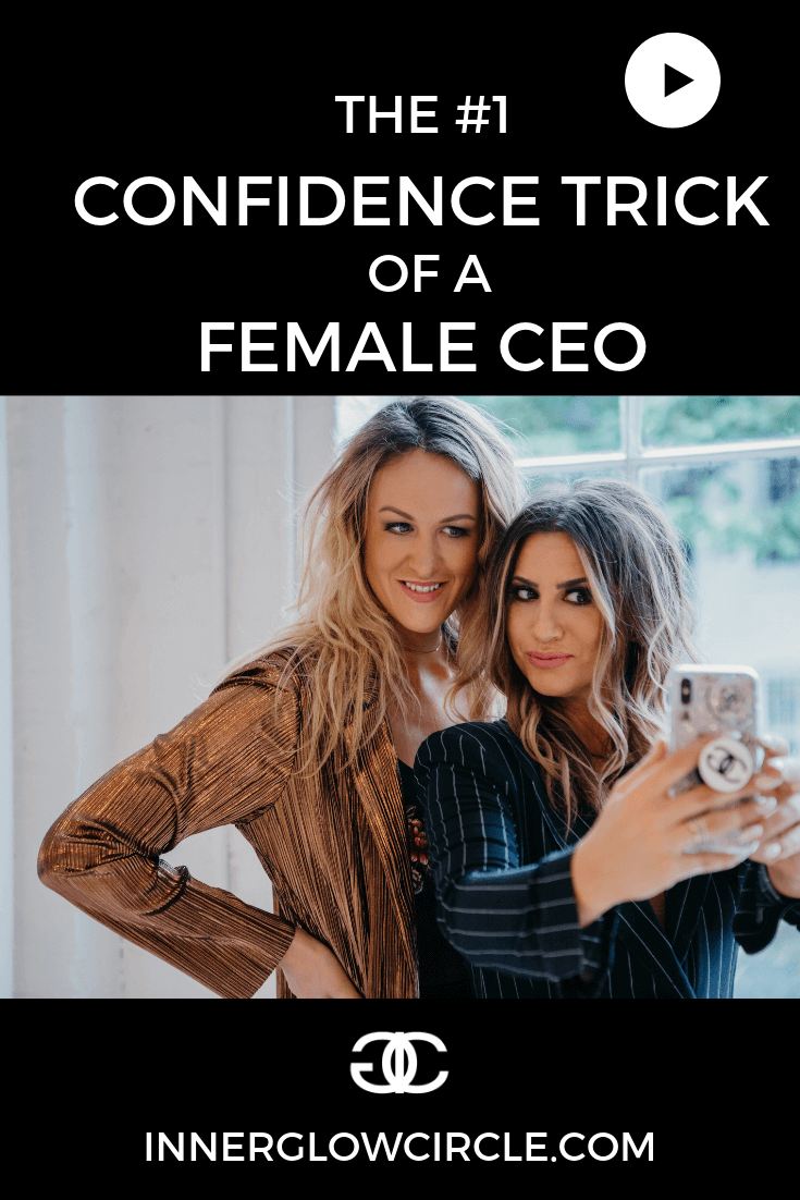 the #1 confidence trick of a female ceo