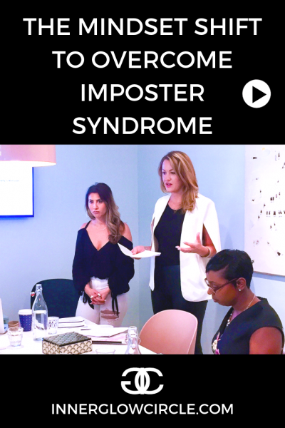 mindset shift to overcome imposter syndrome 3