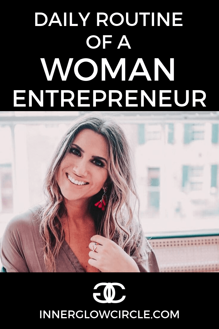 daily routine of a woman entrepreneur